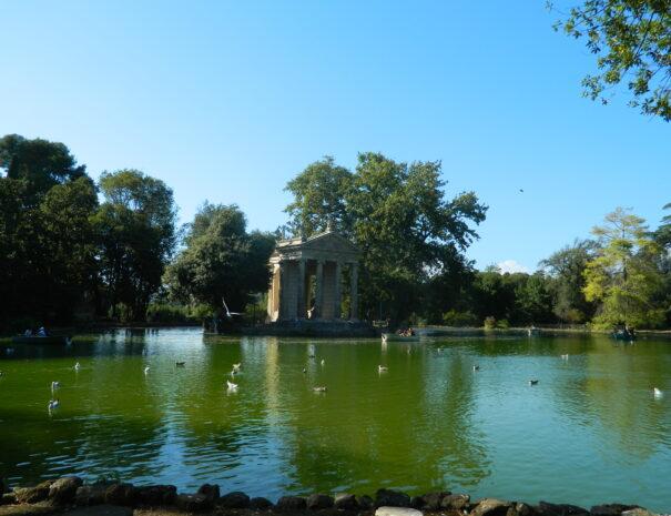 Laghetto Villa Borghese